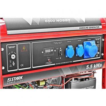 Генератор бензиновый Stark HOBBY 6500