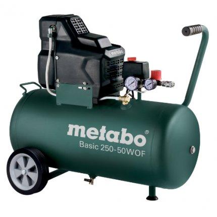 Компрессор поршневой безмасляный Metabo Basic 250-50 W OF
