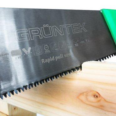 Пила садовая Gruntek Piranha 350 мм (2 сменных лезвия)