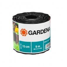 Бордюр садовый Gardena 9 м х 15 см коричневый