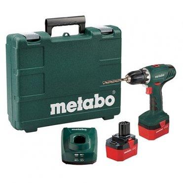 Шуруповерт аккумуляторный Metabo BS 12 NiCd
