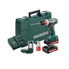 Дрель-шуруповерт аккумуляторный Metabo BS 18 Quick Set