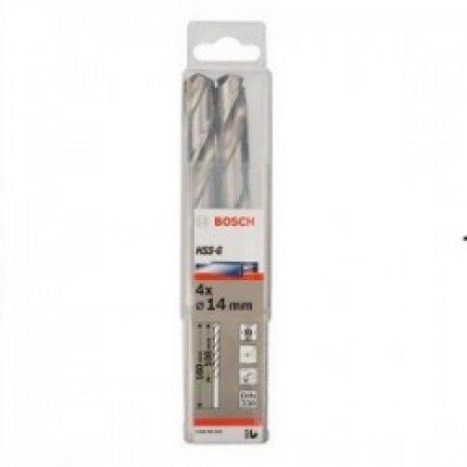 Сверло по металлу Bosch HSS-G 14x160 мм. 4 шт.