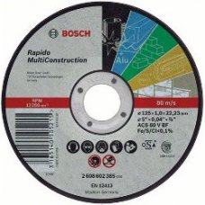 Круг отрезной Bosch Rapido MultiConstruction ACS 46 V BF 125