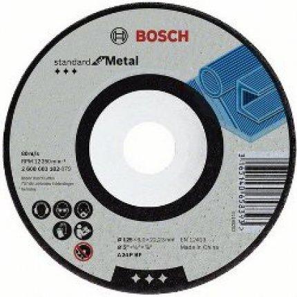 Круг зачистной по металлу Bosch A 30 Т BF 180