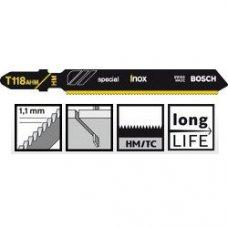 Пильное полотно Bosch Special for Inox T 118 AHM 3шт