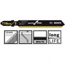 Пильное полотно Bosch Special for Inox T 118 EHM 3шт