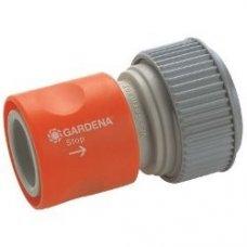 Коннектор стандартный с автостопом Gardena 19мм (3/4') и 16мм (5/8')