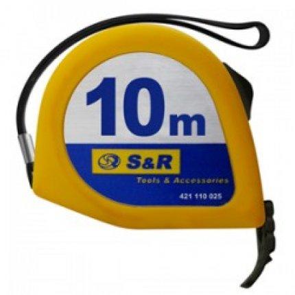 Рулетка S&R 10м серии Q