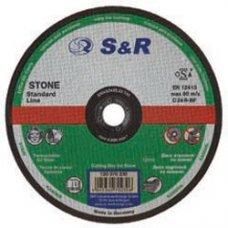 Круг отрезной по камню S&R Standart типа C 24 R 115