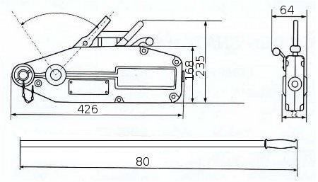Монтажно-тяговый механизм