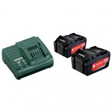 Базовый комплект аккумуляторов Metabo 4 А/ч