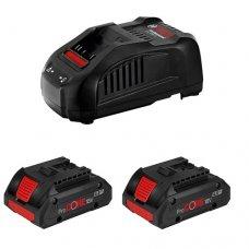 Набор аккумуляторы + зарядное устройство Bosch ProCORE18V 4.0Ah + GAL 1880 CV