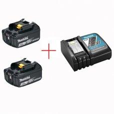 Набор аккумулятор + зарядное устройство Makita DLXMUA182RC