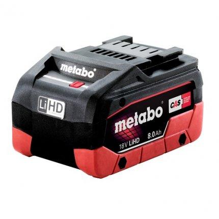 Аккумулятор Metabo LI-HD 18В-8,0 А/ч