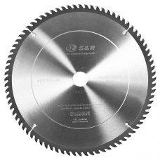 Диск пильный S&R WoodCraft Meister 305x30x2,4мм АТВ 80 зуб. + кольца 20/25,4