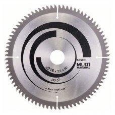 Диск пильный Bosch Multi Material 190 Z54, посадка 20/16