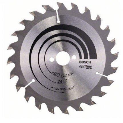 Диск пильный Bosch Optiline Wood 254 Z60