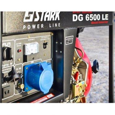 Генератор дизельный Stark DG 6500 LE (260010050)
