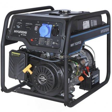 Генератор комбинированный Hyundai HHY 7020FGE
