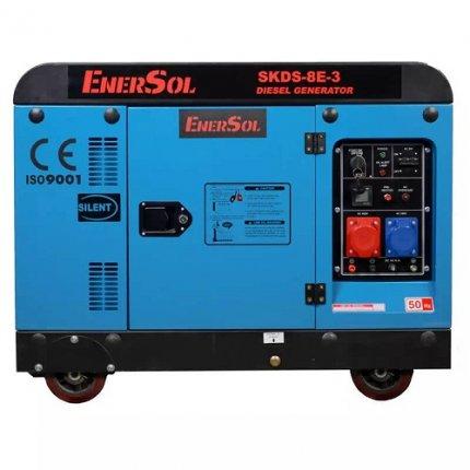 Генератор дизельный EnerSol SKDS-8E-3B 8 кВА 400В