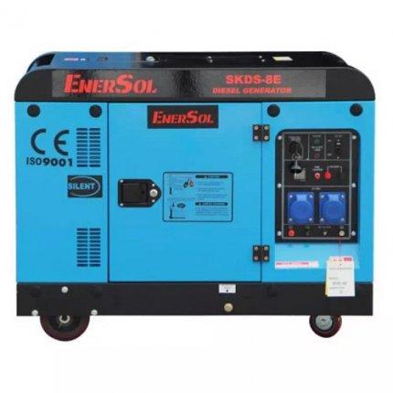 Генератор дизельный EnerSol SKDS-8EB 8 кВА 230В