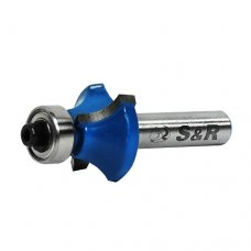 Фреза кромочная S&R 25,4х6,35 мм калёвочная