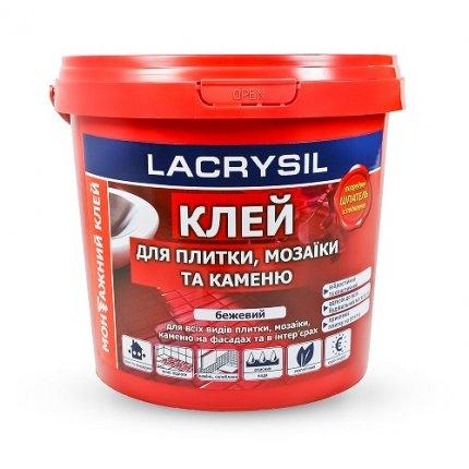 Клей монтажный акриловый Lacrysil«Для плитки, мозаики и камня» 3 кг