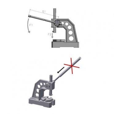 Пресс ручной реечный Optimum DDP 20 (3359012)