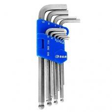 Набор шестигранных ключей S&R HXо 10 шт.