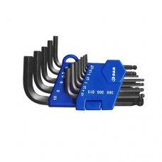 Набор шестигранных ключей S&R HX 13шт в пластиковой клипсе