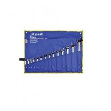 Набор ключей гаечных комбинированных S&R 14шт (10-32мм)