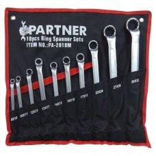 Набор накидных ключей Partner 8-32мм 10 пр.