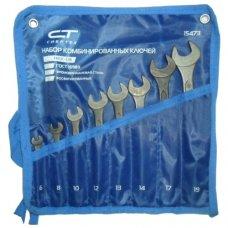 Набор ключей гаечных комбинированных Сибртех 8шт (6-19мм)