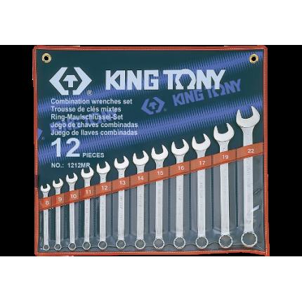 Набор гаечных комбинированных ключей King Tony 1212 MR