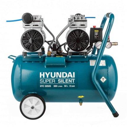 Компрессор безмасляный Hyundai HYC 3050S 50 л 8 бар