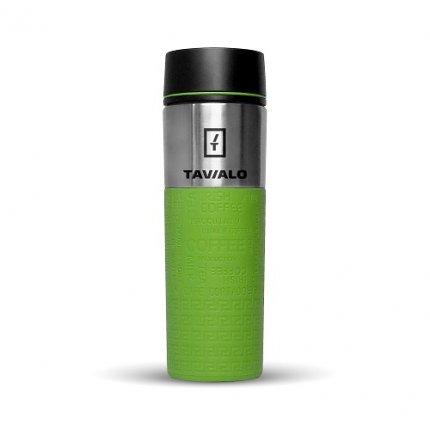 Термокружка Tavialo 420 мл зеленый цвет + 2 уплотнительных кольца