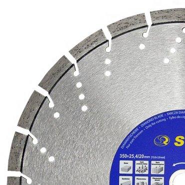 Диск отрезной сегментный S&R по бетону Supreme 350 (242423350)