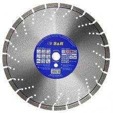 Диск отрезной сегментный S&R по бетону Supreme 400