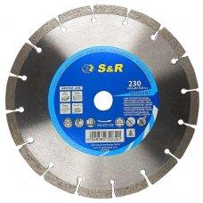 Диск алмазный сегментный S&R Meister 230x22,2