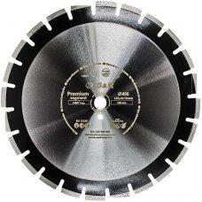 Диск алмазный сегментный S&R Premium Segment 400х25,4 мм (асфальт)