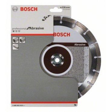 Диск отрезной сегментный Bosch по абразивным материалам Professional 230 (2608602619)