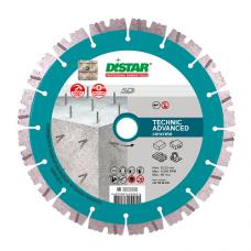 Диск алмазный отрезной Di-Star 1A1RSS-C3 Technic Advanced 125х22,23 мм