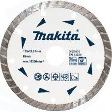 Диск алмазный отрезной Makita Turbo 125x22.23