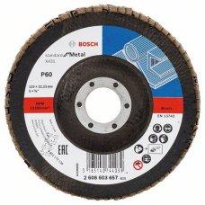 Круг зачистной лепестковый Bosch X431 Standard for Metal,125 мм
