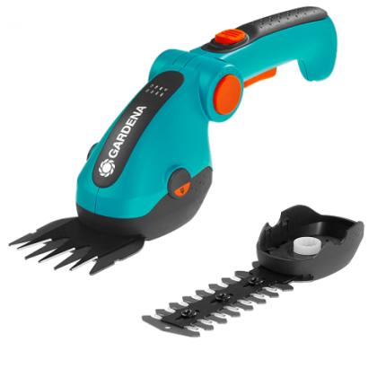 Ножницы для травы аккумуляторные Gardena ComfortCut 9857-20 (с насадкой для кустов)