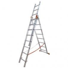 Лестница 3-х секционная Budfix 01408