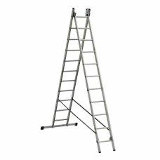 Лестница алюминиевая 2-х секционная Elkop VHR H2x12