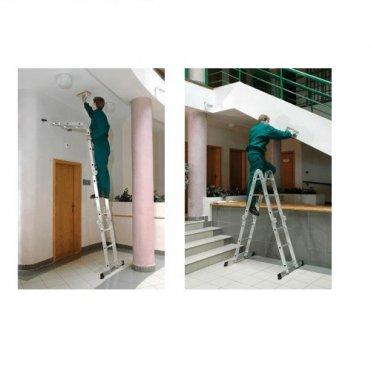Лестница алюминиевая Elkop М4х3 (M4x3B)