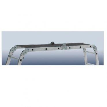 Лестница алюминиевая Elkop М4х3 с доской (M4x3AL+)
